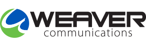 New Home of Weaver Communications Logo